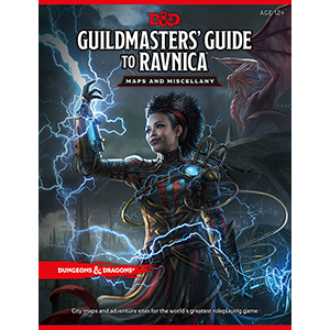 DD5:GM'S GUIDE TO RAVNICA MAP PACK