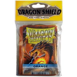 DRAGON SHIELD SMALL ORANGE 50-CT