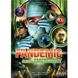PANDEMIC:STATE OF EMERGENCY