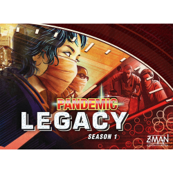 PANDEMIC LEGACY-RED EDITION