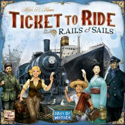 TICKET TO RIDE:RAILS & SAILS