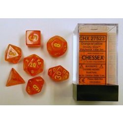 GHOSTLY ARROW ORANGE/YELLOW 7-DICE