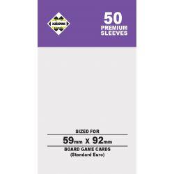 80Μ SLEEVES 59X92(STANDARD EURO)