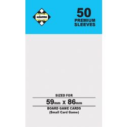 80Μ SLEEVES 59X86(SMALL CARD)