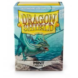 DRAGON SHIELD MATTE MINT 100-CT
