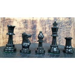PLASTIC CHESS PIECE WITH OVERWEIGHT