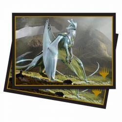 MAGIC CHROMIUM DRAGON DECK PROTECTOR 100CT