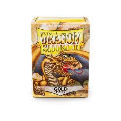 DRAGON SHIELD MATTE GOLD 100-CT