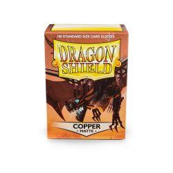 DRAGON SHIELD MATTE COPPER 100-CT