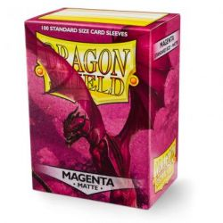 DRAGON SHIELD MATTTE MAGENTA 100-CT