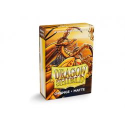 DRAGON SHIELD ORANGE SMALL MATTE 60-CT