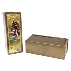 DRAGON SHIELD GOLD 4-COMPARTMENT BOX