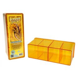 DRAGON SHIELD YELLOW 4-COMPARTMENT ΒΟΧ