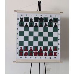 MAGNETIC CHESS DEMO BOARD VINYL