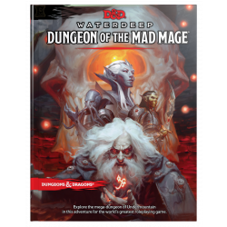 DD5: WATERDEEP - DUNGEON OF THE MAD MAGE RPG BOOK