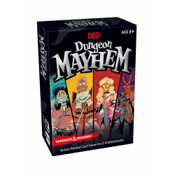 D&D DUNGEON MAYHEM CARD GAME