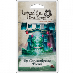 L5R LCG: THE CHRYSANTHEMUM THRONE
