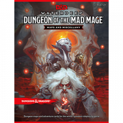 DD5: WATERDEEP - DUNGEON OF THE MAD MAGE MAP PACK
