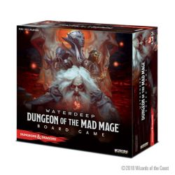 D&D WATERDEEP: DUNGEON OF THE MAD MAGE ADVENTURE SYSTEM BOARD GAME