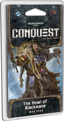 WARHAMMER 40K CONQUEST LCG: THE HOWL OF BLACKMANE WAR PACK