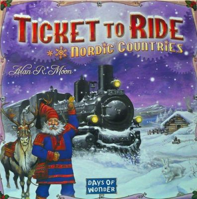 TICKET TO RIDE: NORDICK COUNTRIES