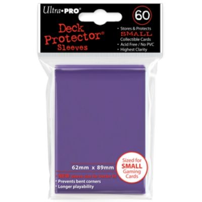 PURPLE YGO NEW DECK PROTECTOR 60-CT