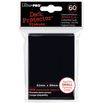 BLACK YGO NEW DECK PROTECTOR 60-CT