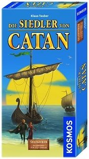 SO CATAN,SEAFARERS  5-6 PLAYERS EXPANSION
