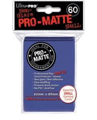 BLUE SMALL PRO ΜΑΤΤΕ DECK PROTECTOR 60-CT