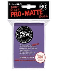 PURPLE SMALL PRO ΜΑΤΤΕ DECK PROTECTOR 60-CT