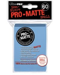 LIGHT BLUE SMALL PRO ΜΑΤΤΕ DECK PROT. 60-CT
