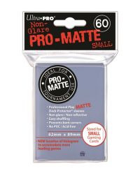 CLEAR PRO MATTE SMALL DECK PROTECTORS 60CT